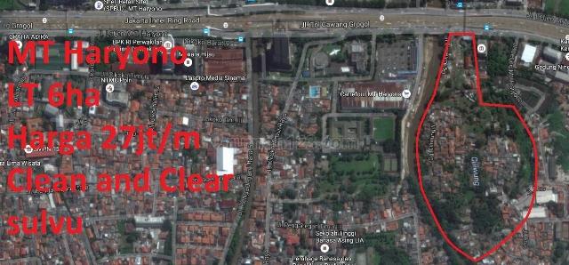 Kavling MT Haryono Samping Carrefour, MT Haryono, Jakarta Selatan
