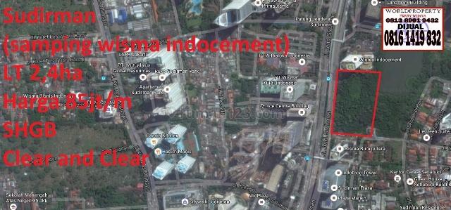 Kavling Sudirman Samping Wisma Indocement, Sudirman, Jakarta Selatan