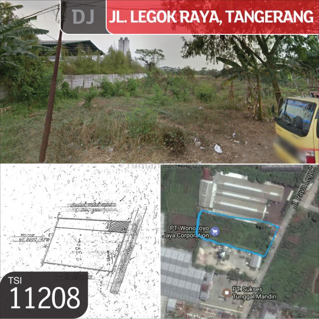 Kavling Legok Raya, Tangerang Selatan, 3.500 m², Legok, Tangerang