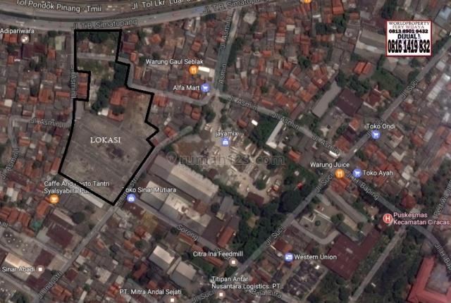 Tanah Daerah TB Simatupang, TB Simatupang, Jakarta Selatan
