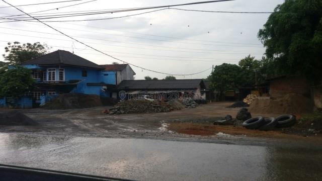 Tanah padat siap bangun gudang ruko tempat usaha dan pabrik, Legok, Tangerang