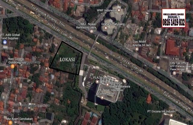 Kavling TB Simatupang Samping Plaza Oleos, TB Simatupang, Jakarta Selatan