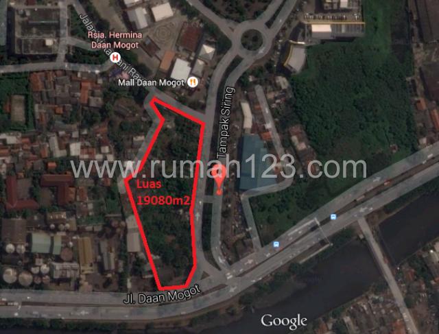 Tanah Hoek Jalan Daan Mogot Raya Pertigaan Tampak, Daan Mogot, Jakarta Barat