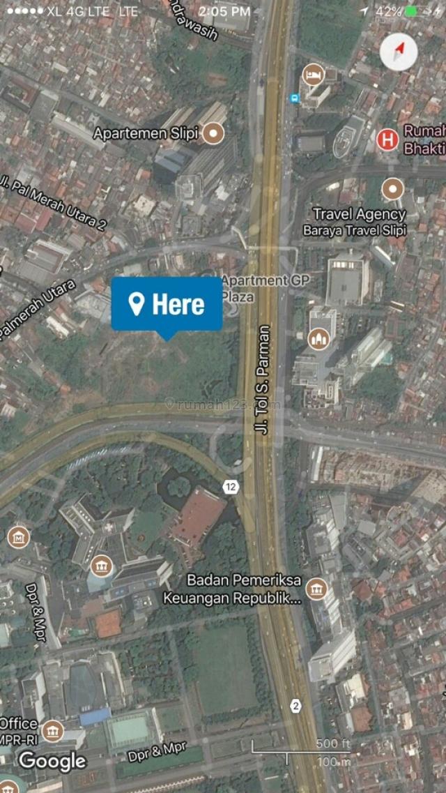 Tanah Gatot Subroto dibawah NJOP, Gatot Subroto, Jakarta Selatan