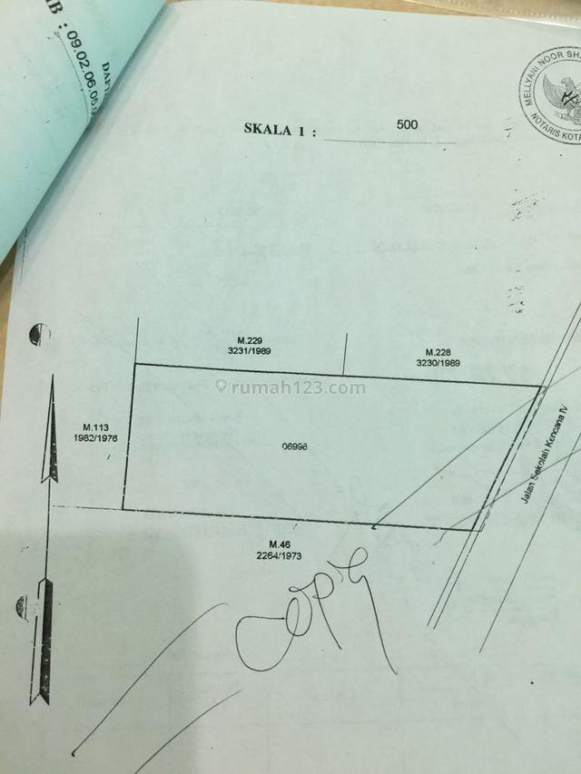 Tanah di Jual Pondok Indah Jalan Sekolah Kencana, Pondok Indah, Jakarta Selatan