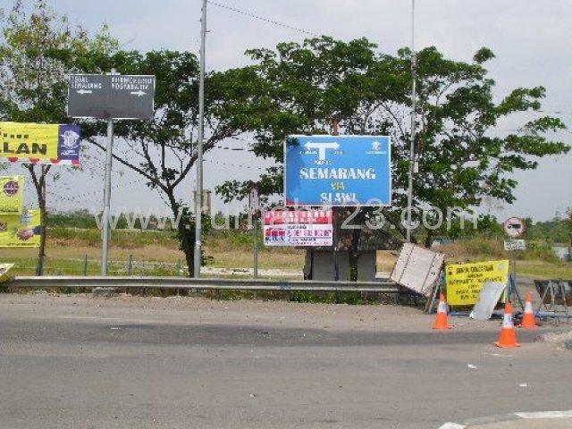 Lokasi Tanah Dimuara Exit Toll Pejagan, Ketanggungan, Brebes