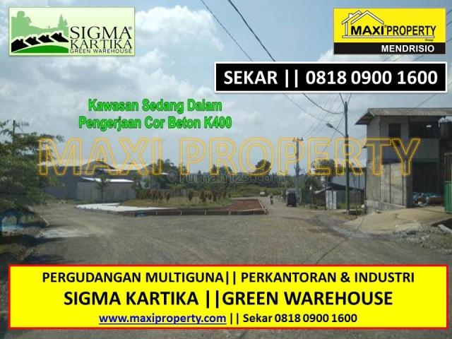 Tanah Buat Gudang, Bisa Industri, BSD, Tangerang