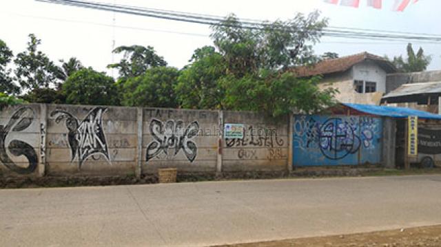 Tanah Kavling siap bangun, lokasi strategis pinggir jalan raya Pagedangan, BSD (mar 327, Pagedangan, Tangerang