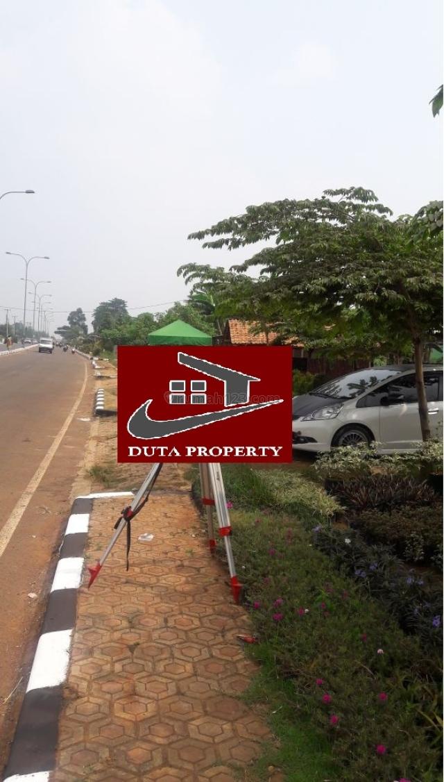 Tanah bagus posisi pinggir jalan di Cikeas, Cikeas, Bogor