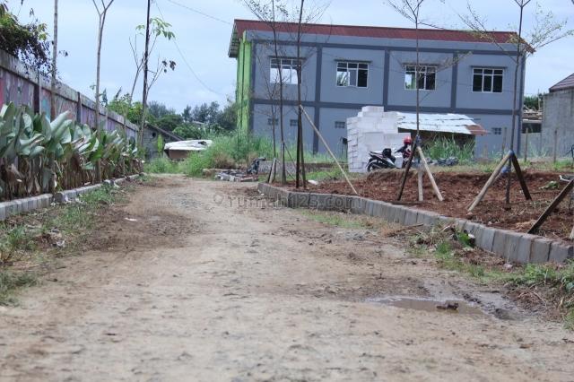 tanah 100 jutaan sertifikat hak milik, 12 x angsuran bebas bunga, citayam, depok