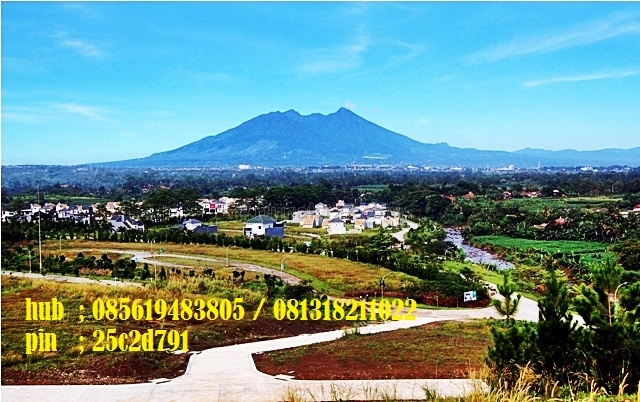 kavling view gunung salak, Sentul City, Bogor