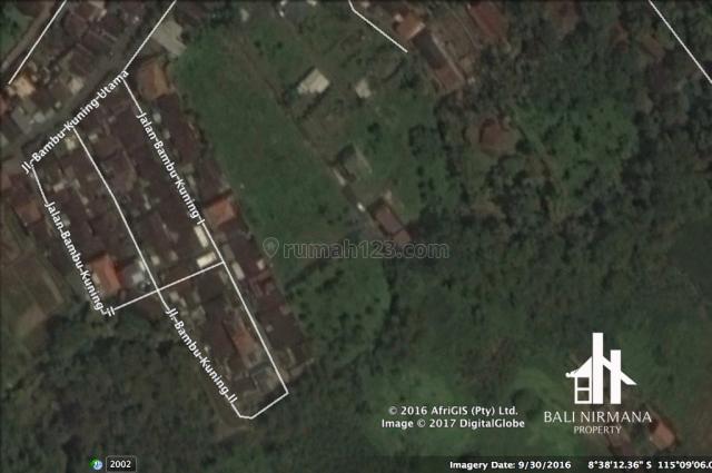 Northern Canggu Bali Freehold Land - 300 Square Meters., Canggu, Badung