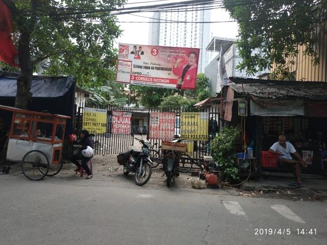 Tanah pademangan pinggir jalan cocok untuk usaha nego sampai jadi!!, Pademangan, Jakarta Utara