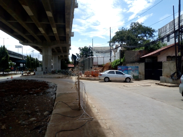Tanah Pinggir Jalan DI Panjaitan Kebon Nanas Jakarta Timur, Cawang, Jakarta Timur