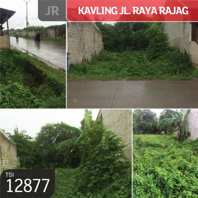 Kavling Jl Raya Rajag, Mauk, Tangerang, 8x25m, AJB, Mauk, Tangerang