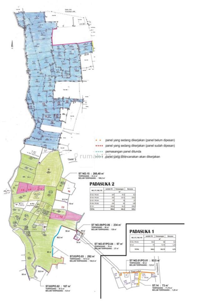 TANAH DAERAH PADASUKA – CIMENYAN Cocok Untuk Kawasan Hunian dengan View Kota Bandung, Padasuka, Bandung