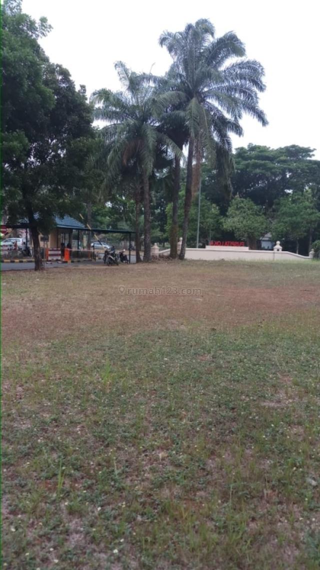 Tanah hook siap bangun di boulevard, BSD Puspita Loka, Tangerang