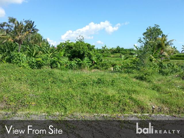 residential freehold land - pantai cemagi - 1086, tanah lot, tabanan