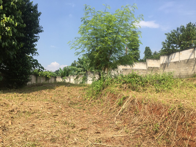 Tanah kavling dalam townhouse, Limo, Depok