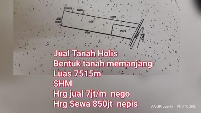 tanah di holis bandung, Holis Cigondewah, Bandung