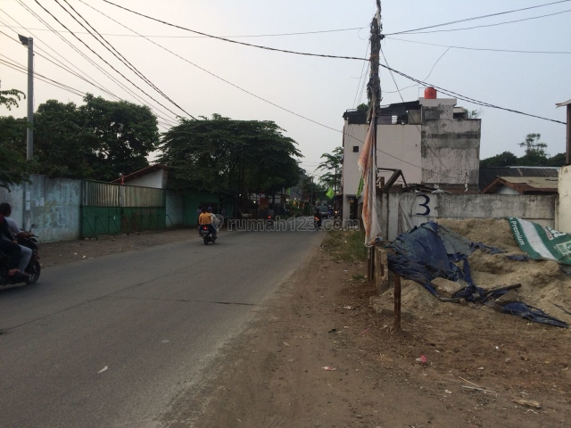 Tanah strategis utk bangun ruko jalan Raya Cikunir Kelurahan Jakamulya Bekasi Selatan, Bekasi, Bekasi