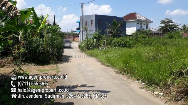 Tanah Siap Bangun Lokasi Jln Macan Lindungan Palembang, Ilir Barat I, Palembang
