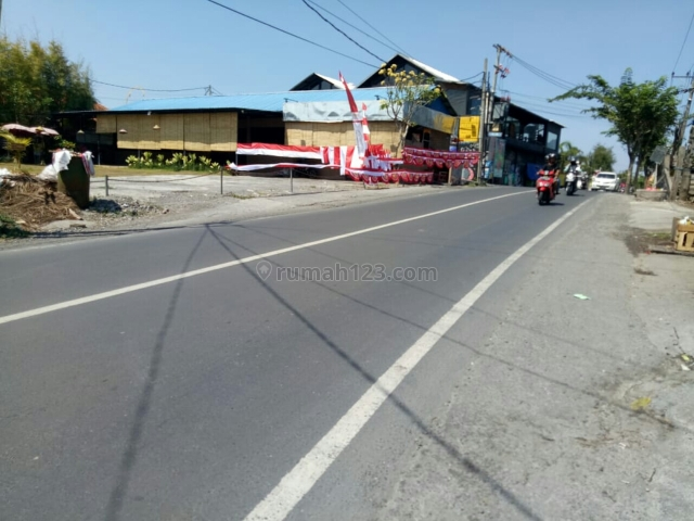 Tanah:600m2 super langka siap Bangun Di jln utama Canggu Badung Bali, Canggu, Badung