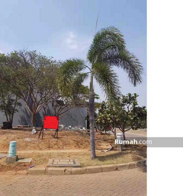 Tanah kavling hoek Pantai Mutiara di Jalan Utama Pantai Mutiara, Pantai Indah Kapuk, Jakarta Utara