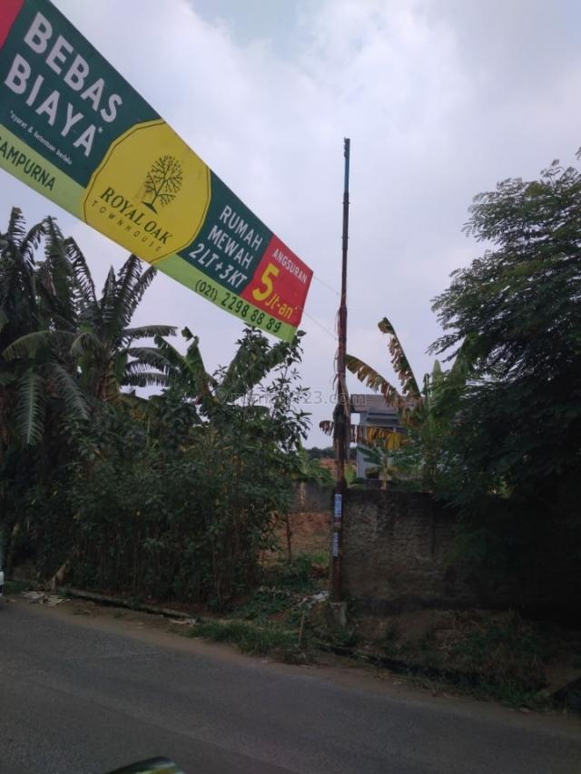 Tanah strategis pinggir jalan 1032 m, kranggan, Jatisampurna. Bekasi, Jatisampurna, Bekasi