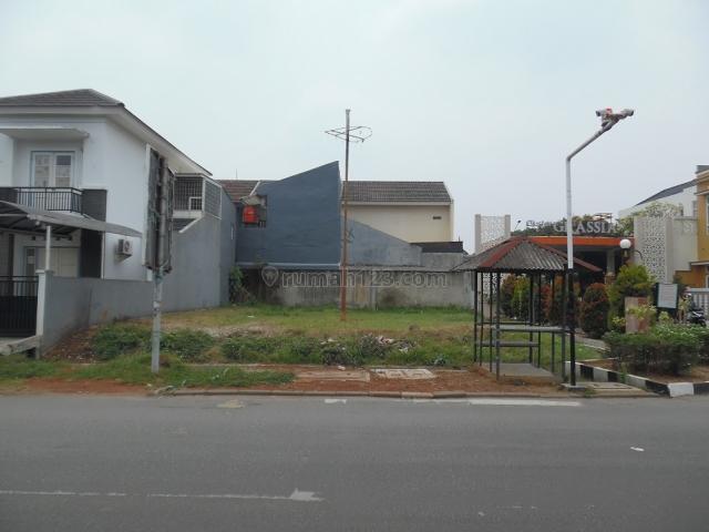 Kaveling siap bangun, boulevard, utara, di depan cluster grassia, Banjar Wijaya, Tangerang