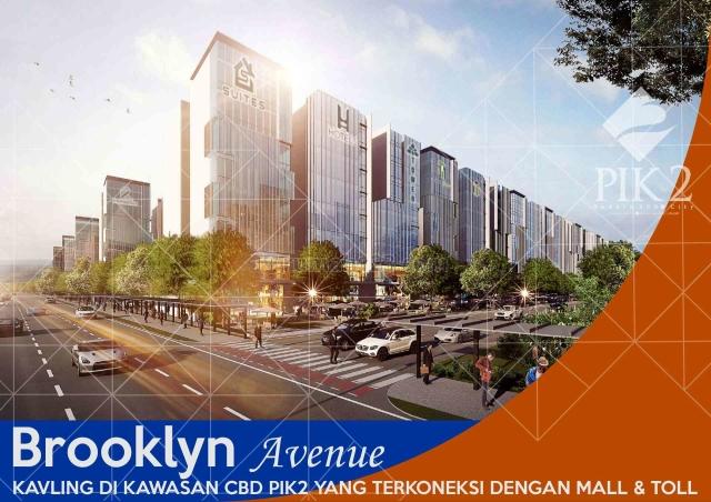 Kavling Komersial Brooklyn Avenue, PIK 2, Penjaringan, Jakarta Utara
