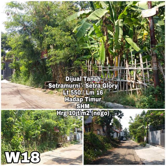 Tanah Kotak di Setra Murni Bandung Utara, Sukasari, Bandung