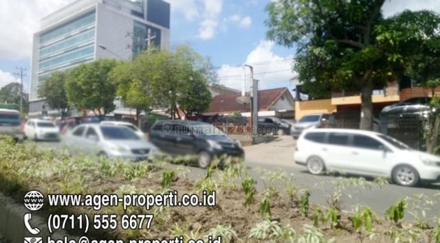 Tanah Plus Tempat Usaha Jln Demang Lebar Daun Palembang, Ilir Barat I, Palembang