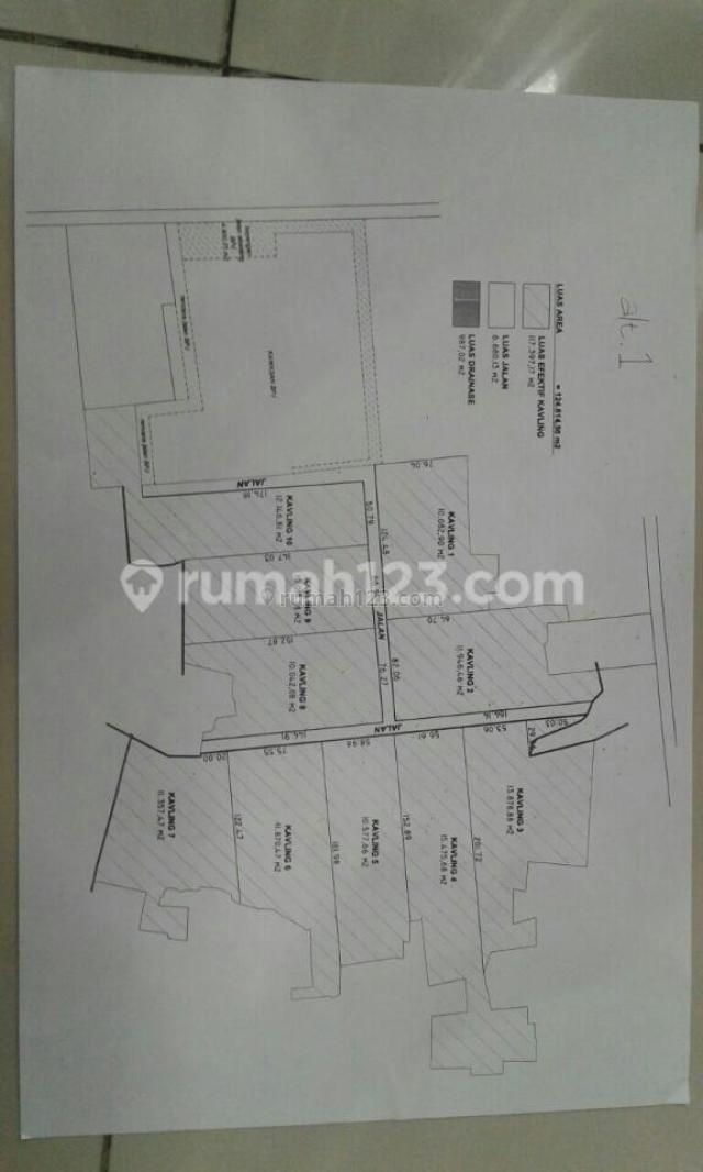 Tanah Kavling Industri dengan ijin celup, Rancaekek Bandung, Solokan Jeruk, Bandung