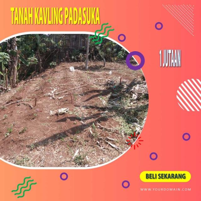 Tanah kavling murah, 1 jutaan, di padasuka bandung timur, Padasuka, Bandung