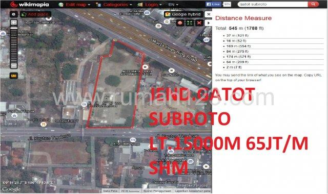 Tanah Daerah Gatot Subroto, Gatot Subroto, Jakarta Selatan