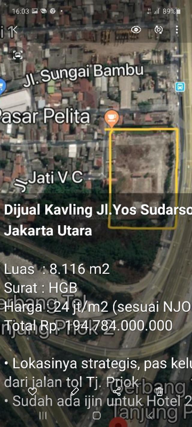 kav jln raya, Tanjung Priok, Jakarta Utara