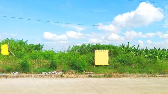 Tanah Keras siap pakai di exit tol Deltamas Cikarang, Cikarang, Bekasi