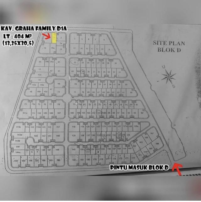 Graha Family Blok D Kotak, Graha, Surabaya