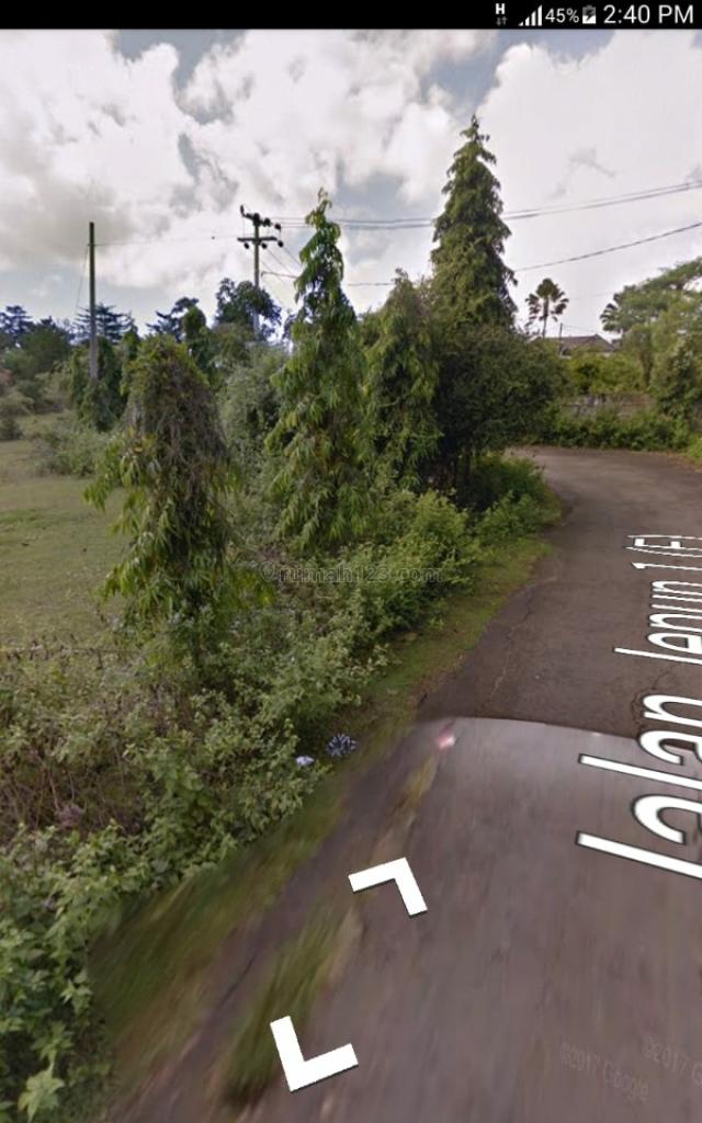 Tanah lokasi cocok vila siap bangun jalan lebar, Jimbaran, Badung