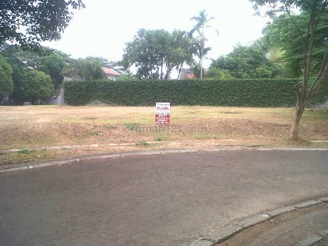 Kavling Luas Tanah 616m2 di Anggrek Loka BSD (ETNG04), BSD Anggrek Loka, Tangerang