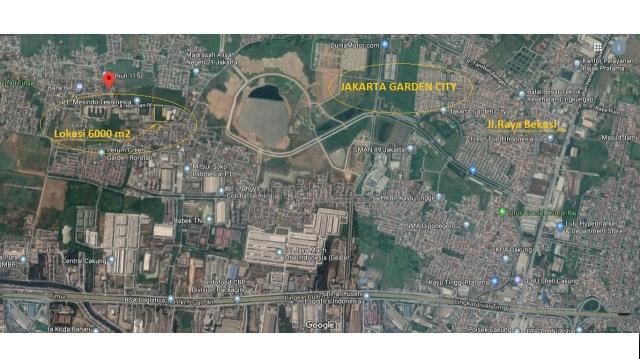 Kavling Komersil di Rorotan, Rorotan, Jakarta Utara