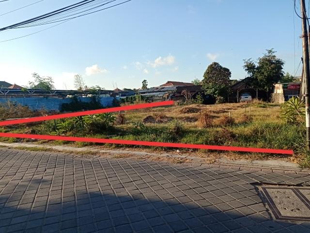 Tanah 700m2, Jalan Taman Sari Kartika Plaza Kuta Bali, Kuta, Badung