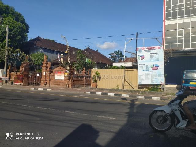 Tanah 2 are di jalan Imam Bonjol Denpasar Bali, Pemecutan Kelod, Denpasar