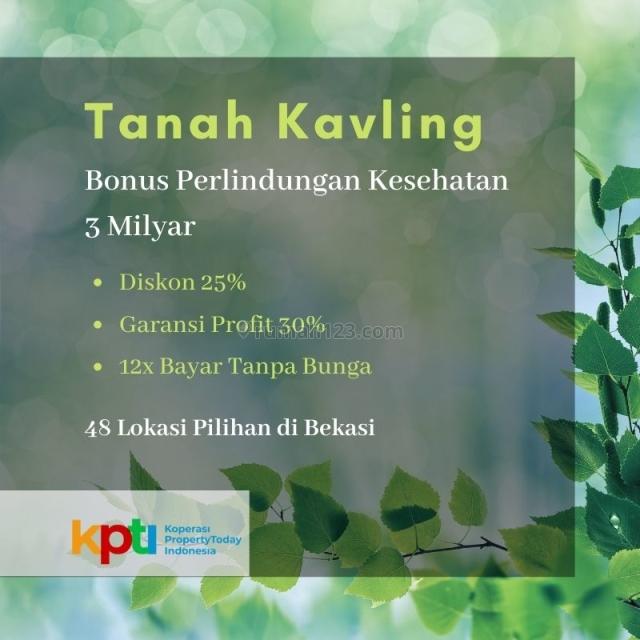 Tanah Kavling Murah Strategis Tambun Utara Bekasi Jawa barat, Tambun Utara, Bekasi