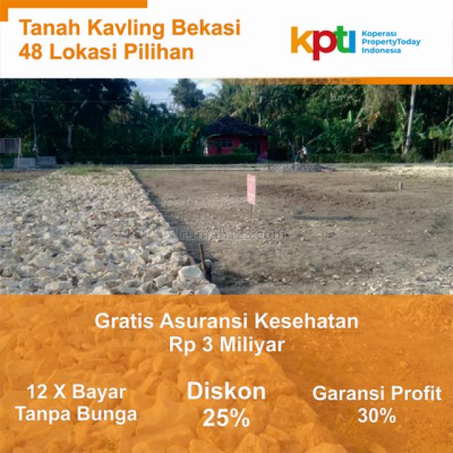 Beli Tanah Dekat Pintu Tol Tambun, Promo Disc.25%: Ambil Profitnya!, Mustikajaya, Bekasi