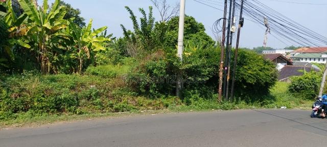 Tanah Darat Pinggir Jalan Raya Siap Bangun di Cibinong, Cibinong, Bogor