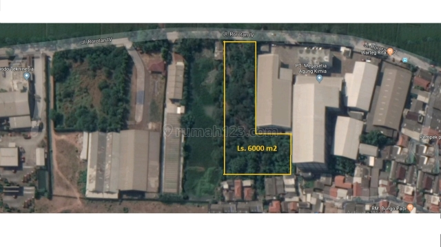 Tanah 6000m Rorotan Cakung Jakarta Utara, Rorotan, Jakarta Utara