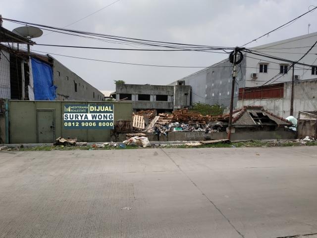 Tanah cocok utk Gudang / Pabrik non limbah akses kont 40ft leluasa jarang ada yg posisi bagus, Kapuk, Jakarta Utara
