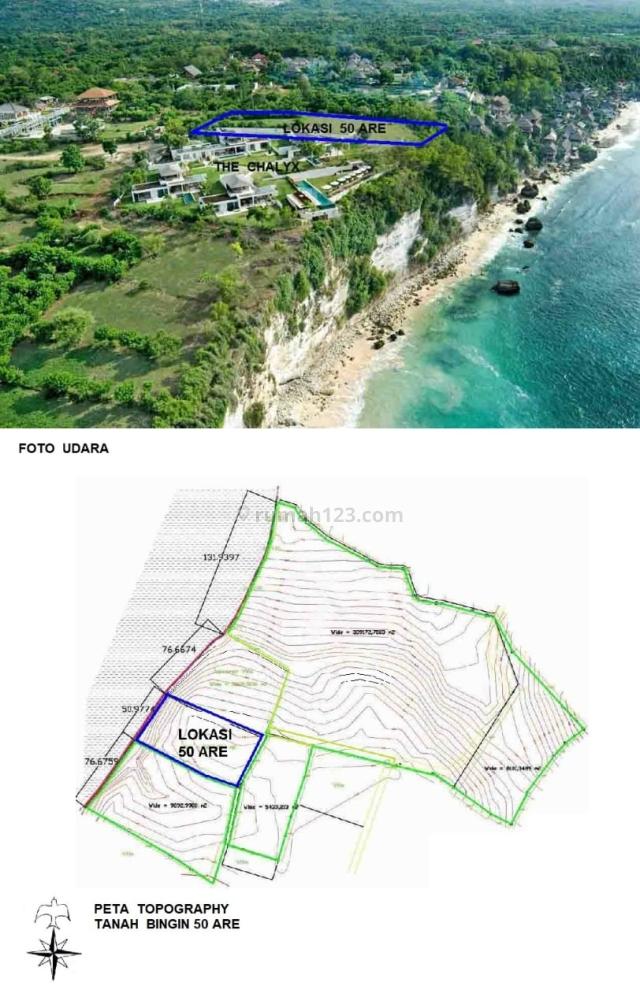 TANAH TEPI TEBING LAUT BINGIN, Pecatu, Badung